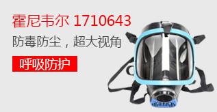 霍尼韦尔 1710643 Cosmo 蓝EPDM 单罐全面罩