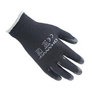 翰辉PE302 13针染色尼龙掌浸各色PU手套