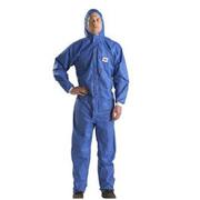 3M 4532蓝色带帽连体防护服