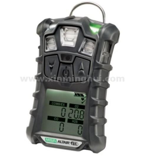 梅思安10118140天鹰4X多种气体检测仪(EX/O2/CO 带跌倒报警)