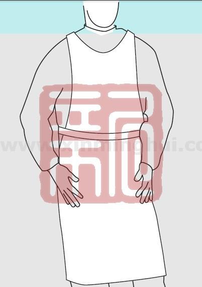 微护佳 MG2000  WH20-S-99-213-00白色围裙封面