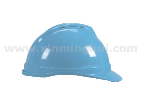 梅思安 10109017 豪华ABS白色安全帽易拉宝帽衬针织布吸汗带D型下颌带