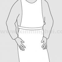 微护佳 MG2000 WH20-S-99-213-00白色围裙