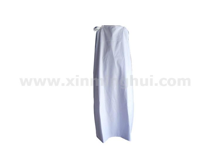 PVC白耐油围裙C3602(3490110)