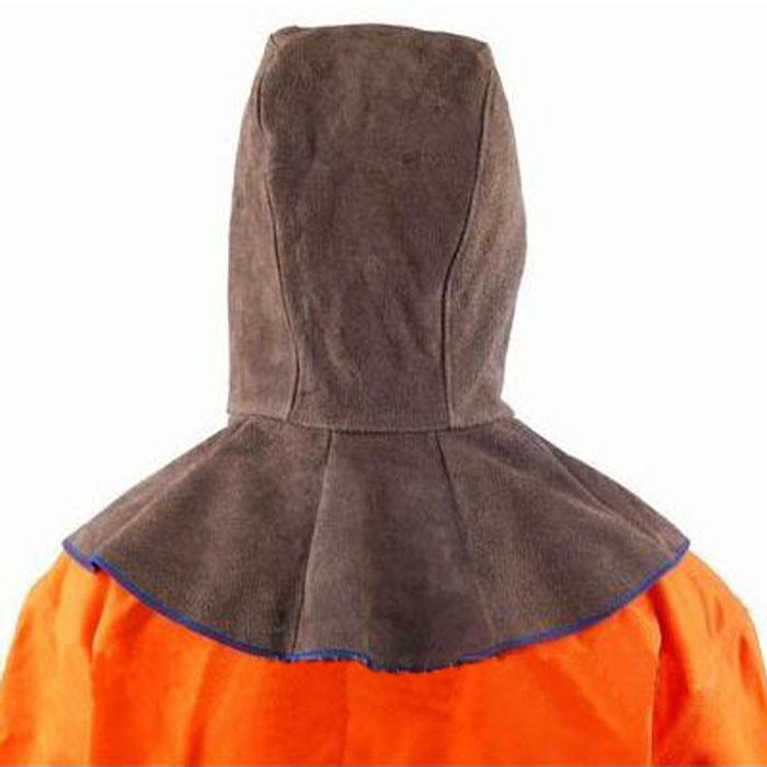 友盟AP-3000C炭啡色皮全护式焊帽 39CM高 周长50CM