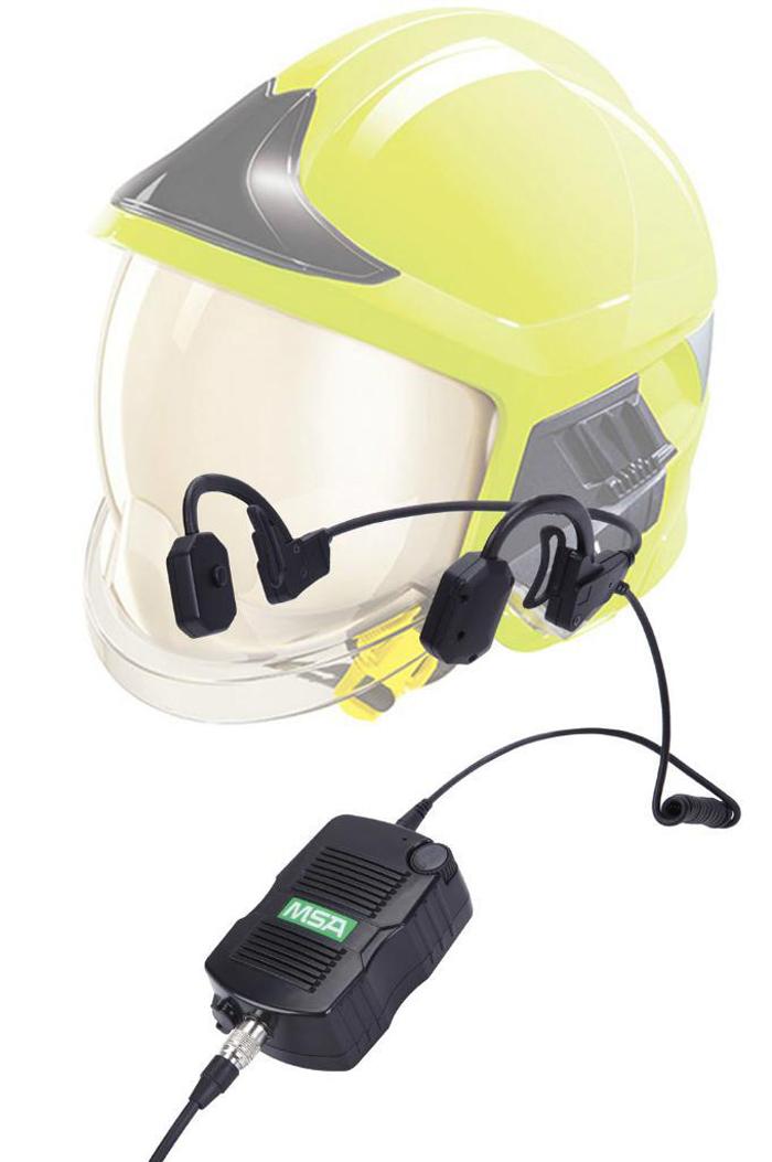 梅思安10155024 捷易通通讯系统耳挂式 含摩托罗拉M3连接线(不含对讲机)