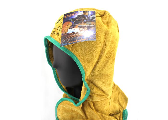 威特仕23-6680Z泥色芯皮全护式焊帽