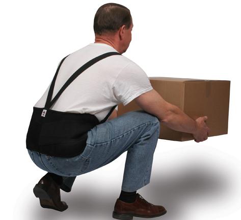 人体工学透气护腰带