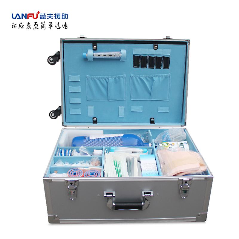 蓝夫LF-12023B企业标准急救箱