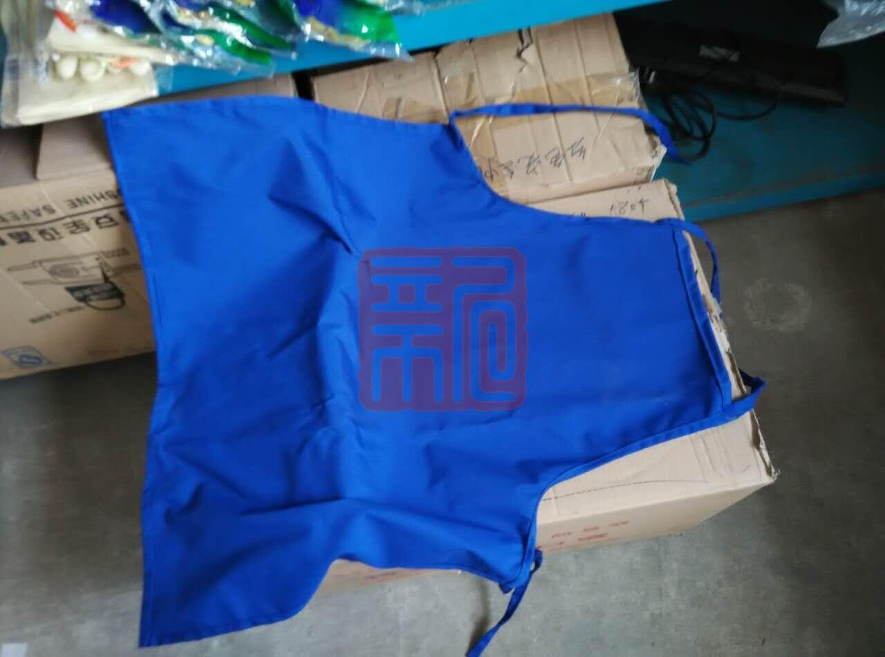 蓝布涤卡围裙封面