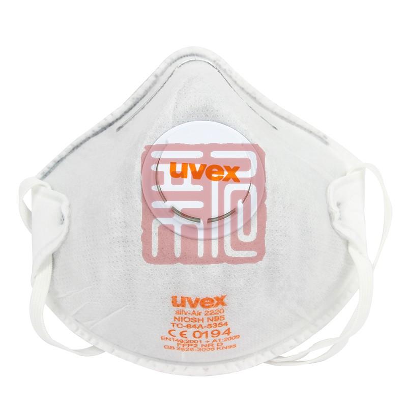 优唯斯8732220罩杯式防尘口罩带阀带活性炭封面