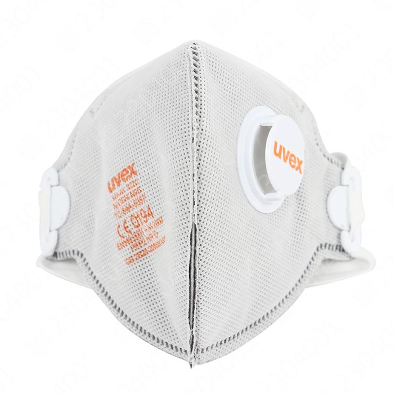 优唯斯8733220折叠式防尘口罩带阀带活性炭封面