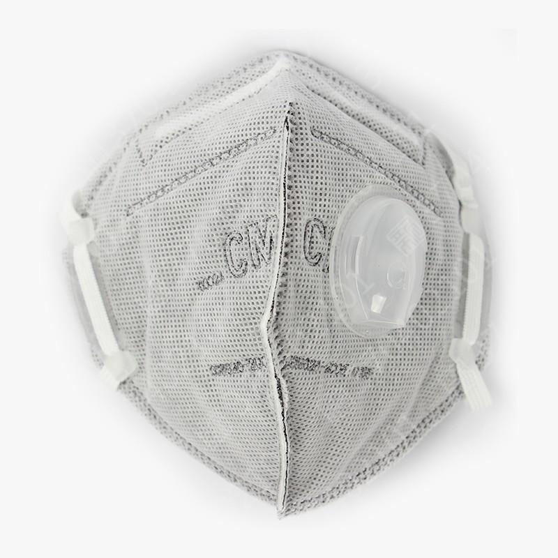 朝美6002A-4活性炭带呼吸阀口罩(耳戴式)封面