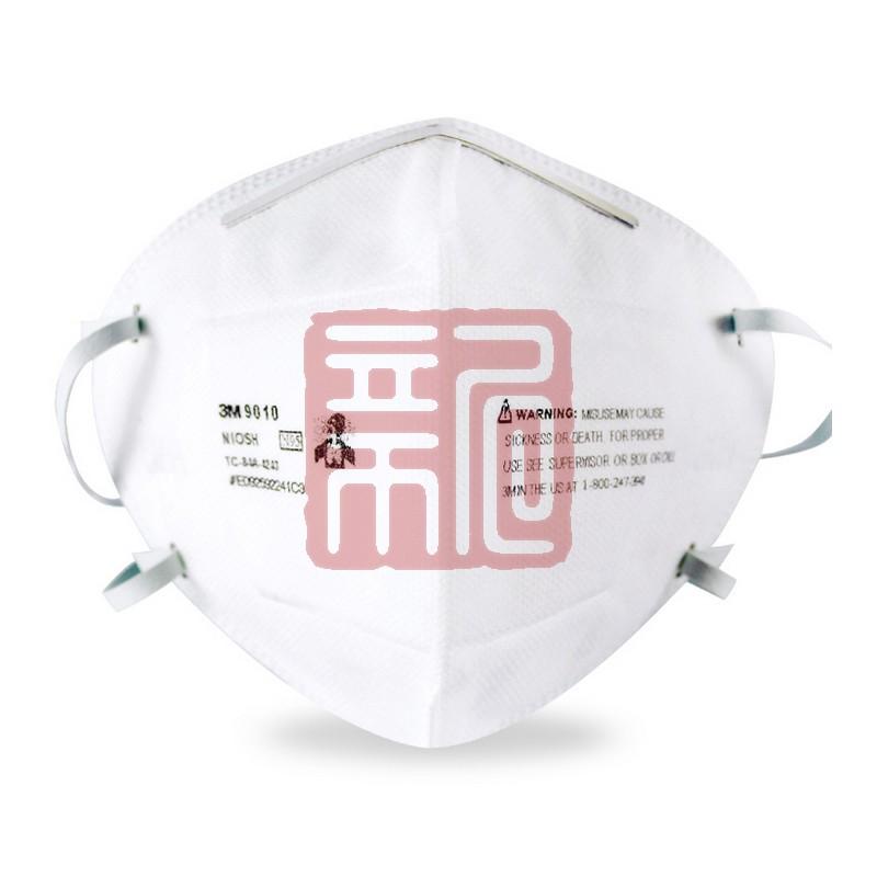 3M 9010 N95折叠式防颗粒物防尘口罩封面
