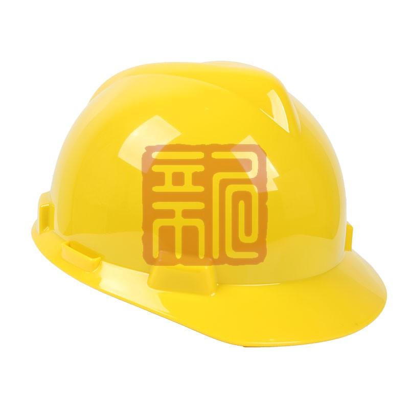 梅思安9111918标准型PE白色安全帽易拉宝帽衬针织布吸汗带D型下颌带封面
