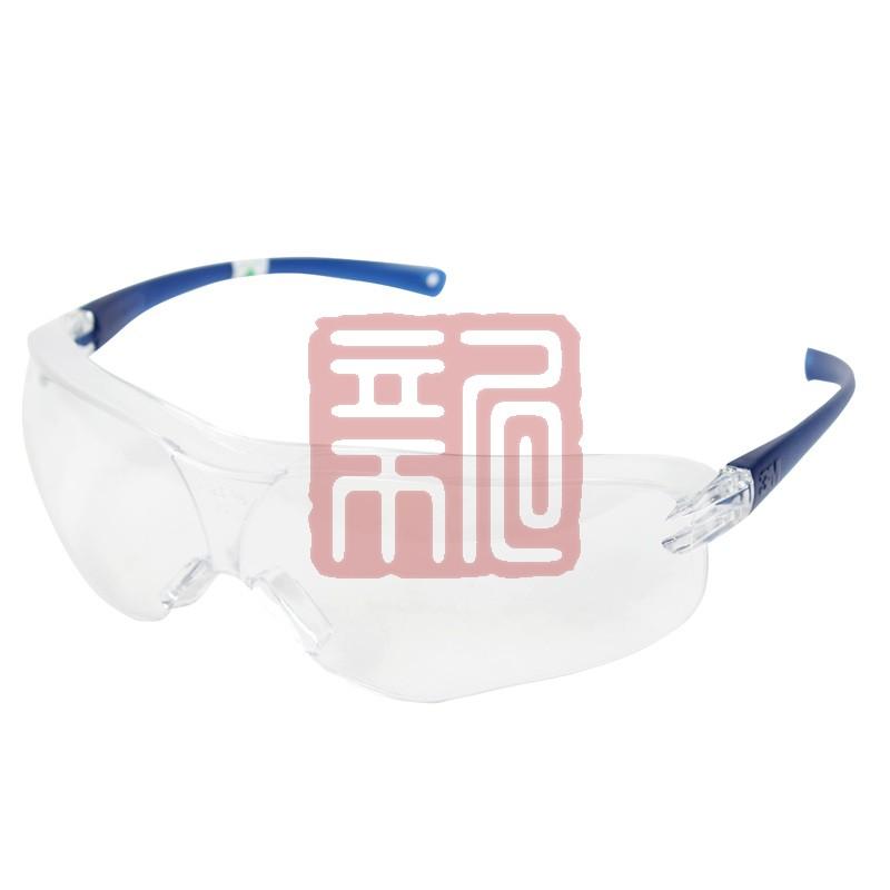 """3M 10434""""中国款""""流线型防护眼镜-透明镜片防雾封面"""