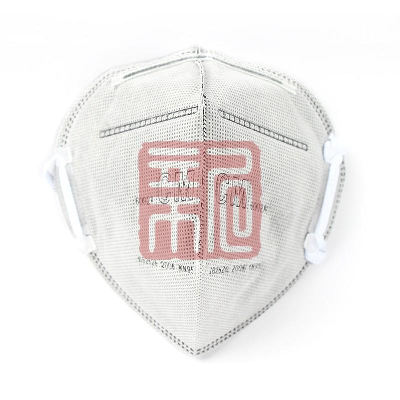 朝美 6002A-2折叠式活性碳防尘口罩(头戴式)封面