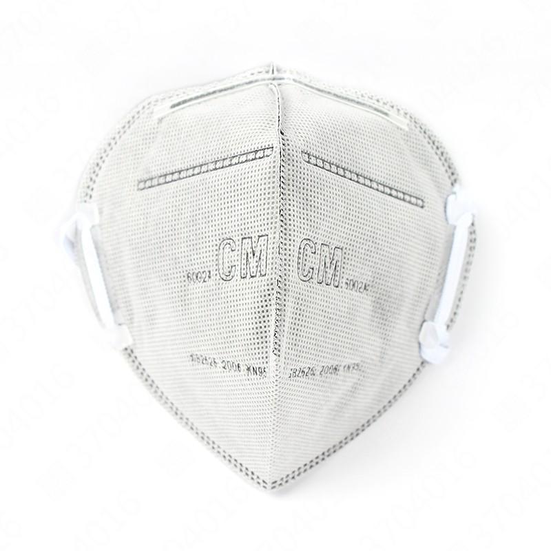 朝美 6002A-2折叠式活性碳防尘口罩封面