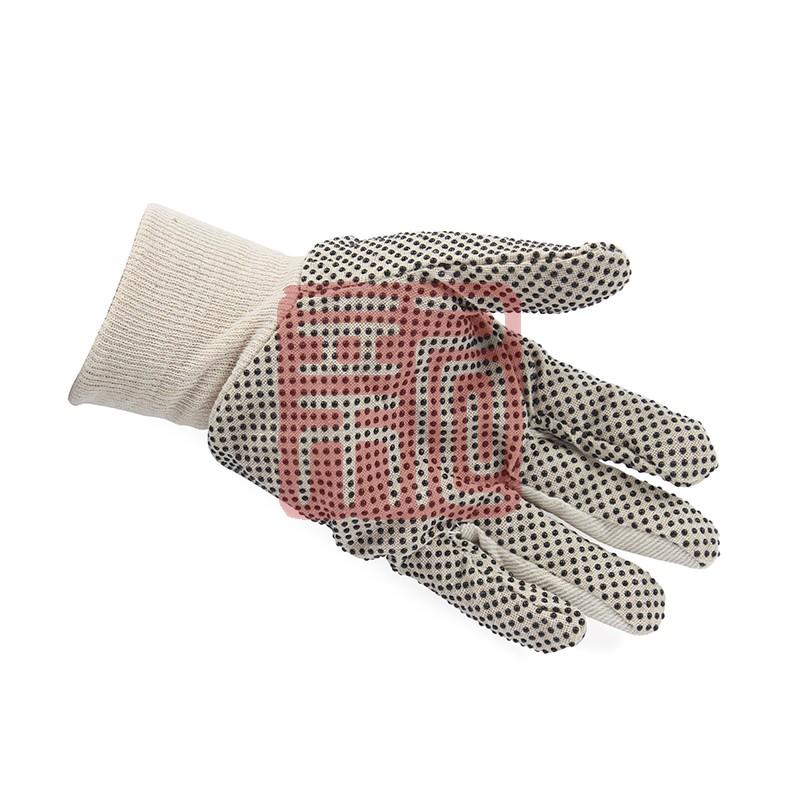 代尔塔 208007-10 PVC点塑棉质手套 CP149封面