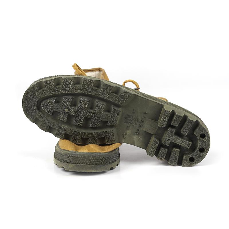 天津双安高帮耐油鞋(黄色)-43