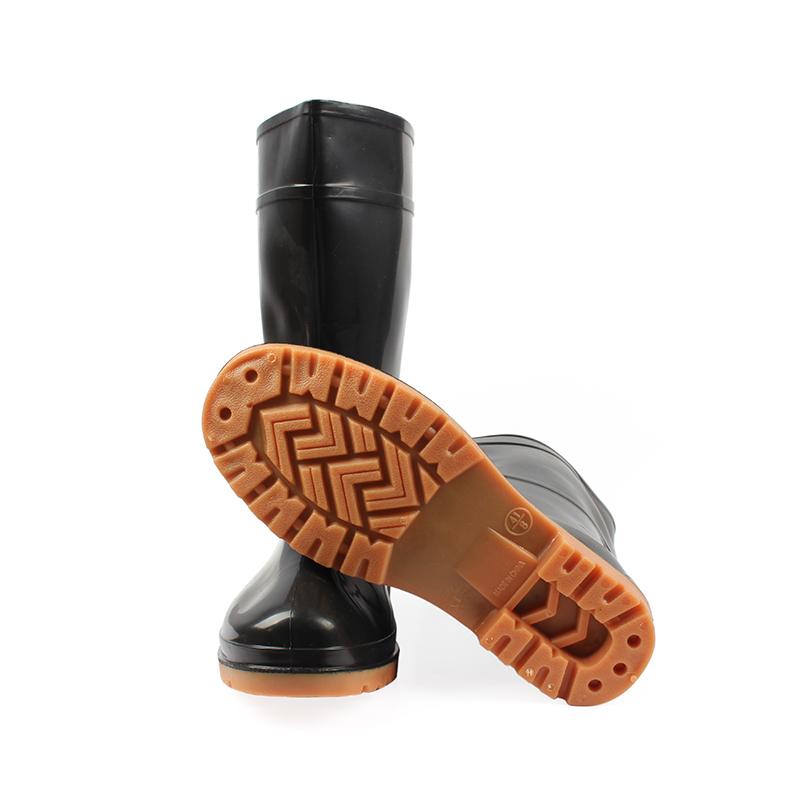 安斯盾中筒水靴 黑色
