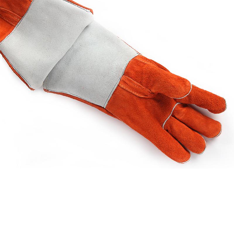 友盟AP-0328-XXL锈橙色烧焊手套