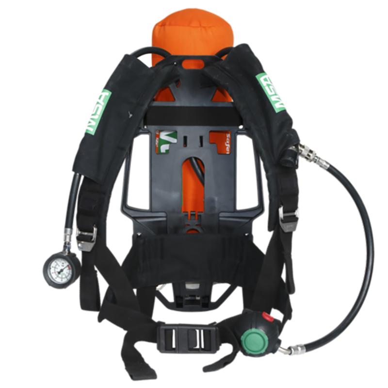 梅思安 10165420 AX2100空气呼吸器 气瓶带表