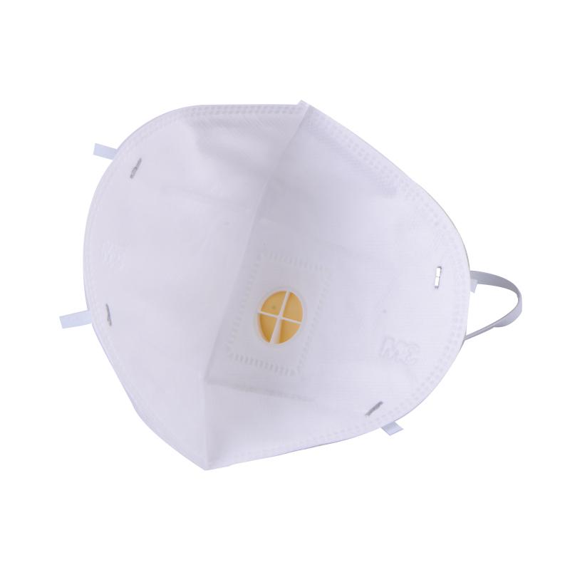 3M 9001V 环保包装折叠式耳戴式带呼吸阀亚博体育APP官网口罩
