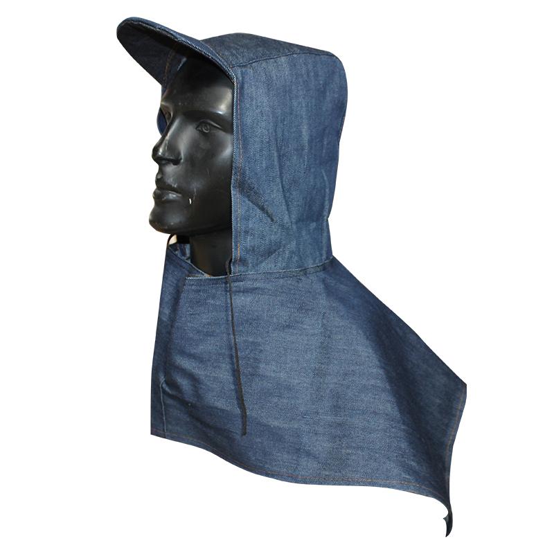 新型牛仔布披肩帽