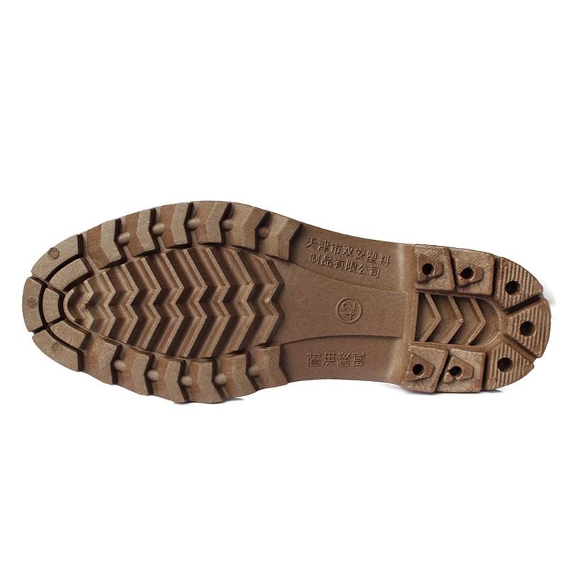 红叶耐油高靴食品靴 黑色