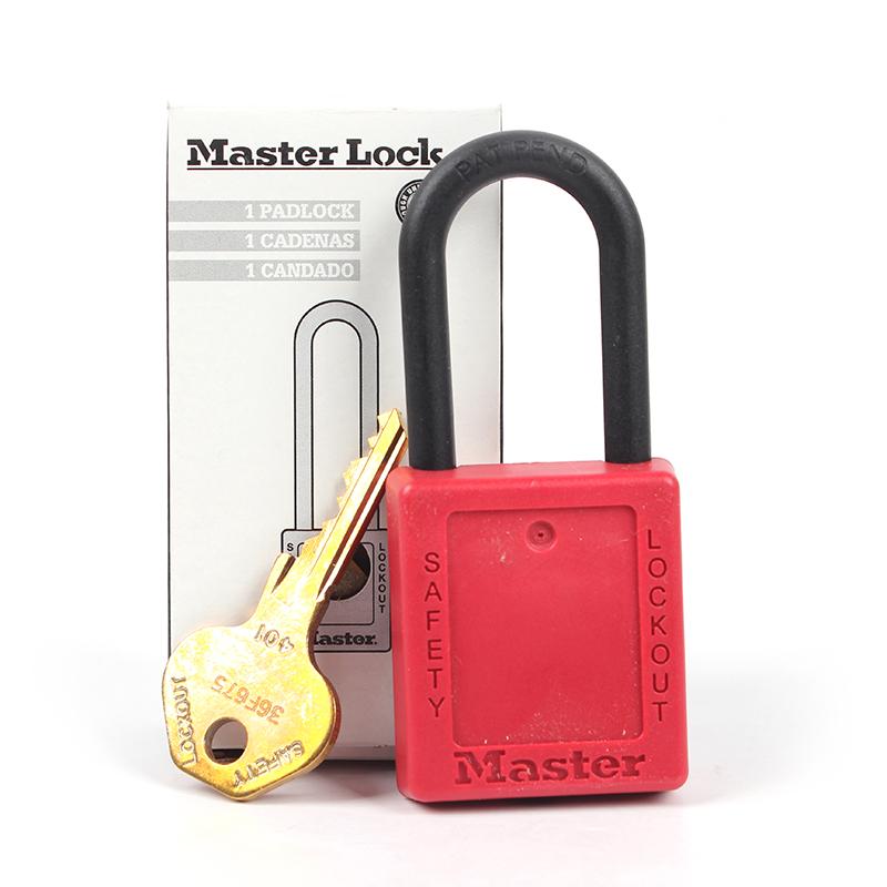 玛斯特 406MCNRED 绝缘安全锁