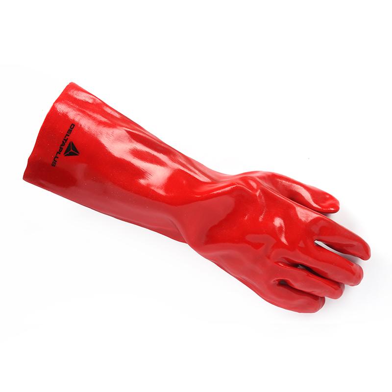 代尔塔 201402-10 PVC加强硫化手套 PVCC400