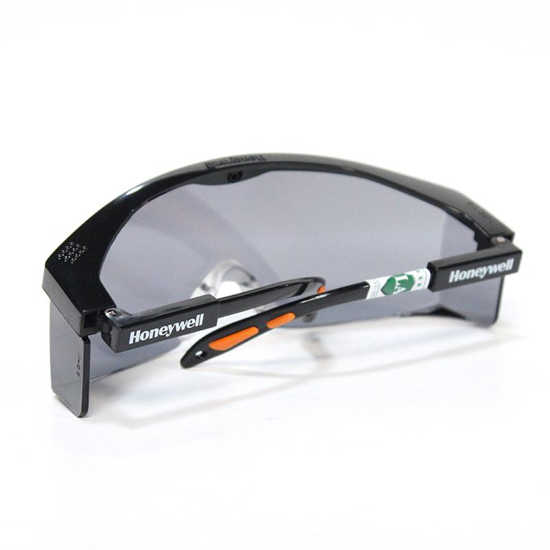 霍尼韦尔100111 S200A防雾防刮擦(黑色镜架灰色镜片)