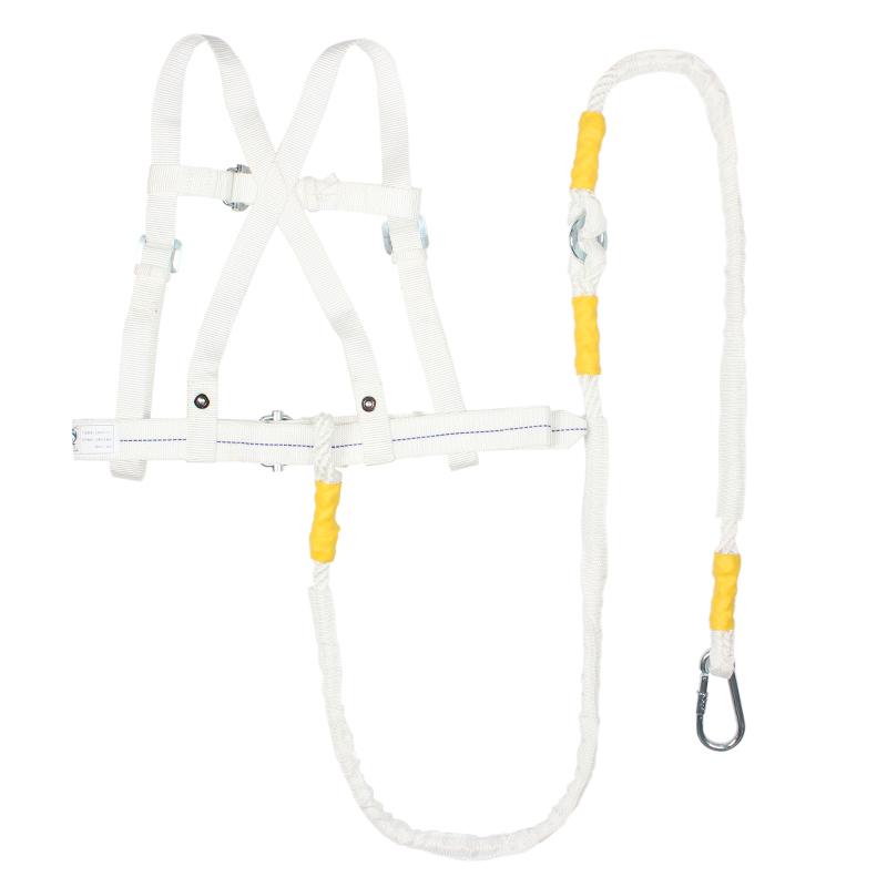 建设双背安全带(白色)