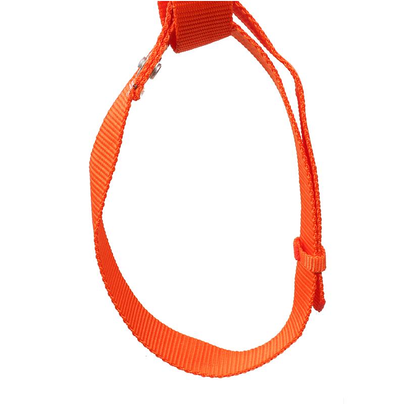 建设高空安全带(橘红)