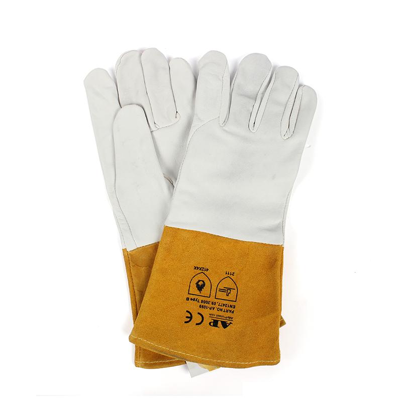 友盟AP-1099-XXL上等羊青长袖筒TIG手套