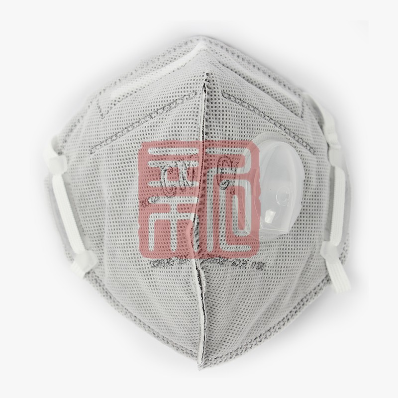 朝美6002A-4活性炭带呼吸阀口罩(头戴式)封面