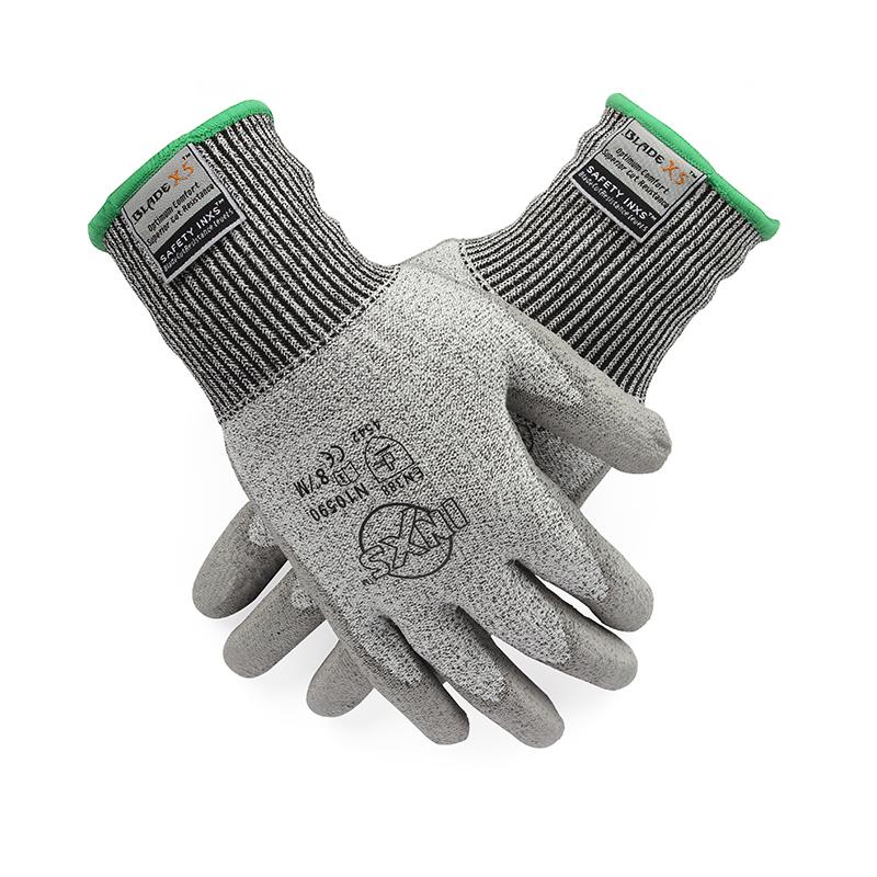 赛立特N10590 PU涂层5级防割手套