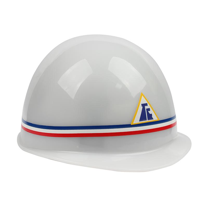 唐丰塑料头盔式安全帽PE 白