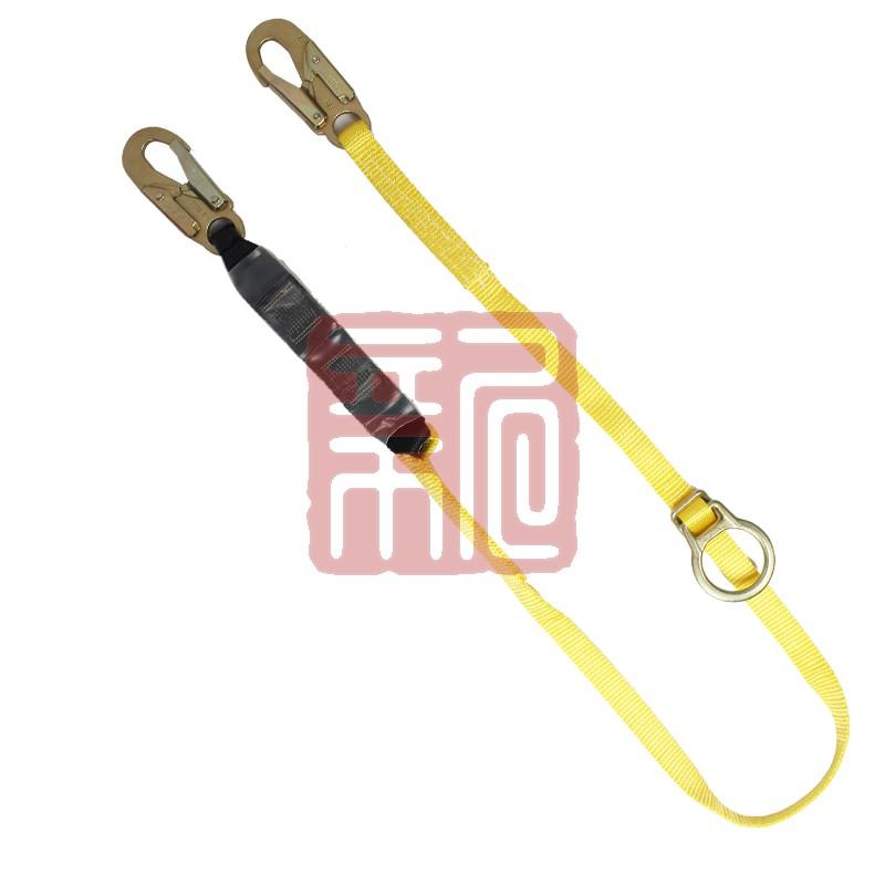 梅思安 9302002 沃克曼单腿反扣型吸震绳,两端均为19mm开口挂钩封面