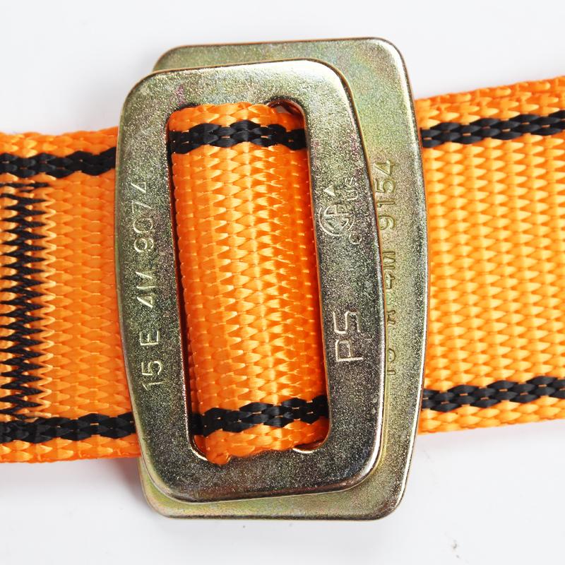梅思安 10147343轻巧星全身式安全带配吸震绳双腿