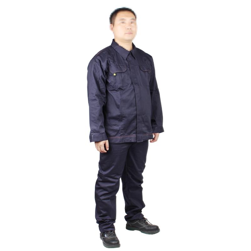 代尔塔 405168 AS100CEN全棉防静电工作服套装