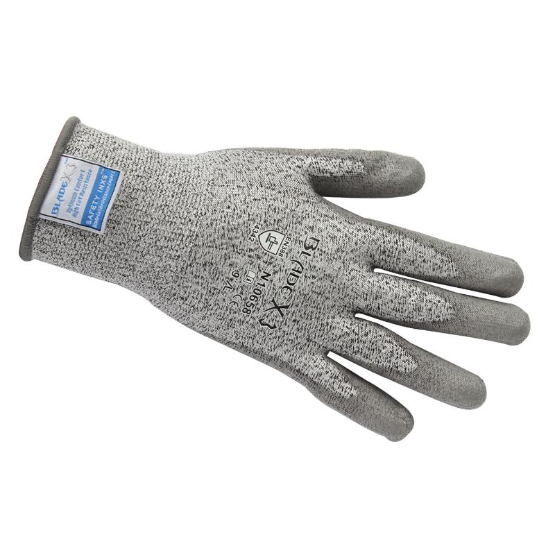 赛立特N10658 PU涂层3级防割手套