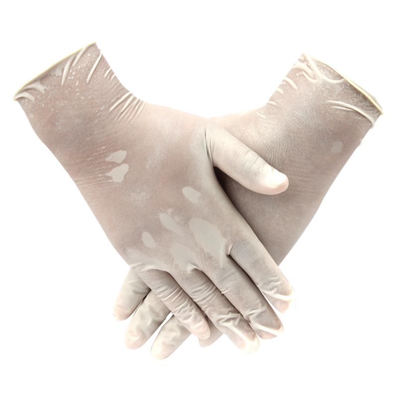 AMMEX爱马斯TLFCMD40100一次性使用医用橡胶检查手套 (耐用型) 特小号