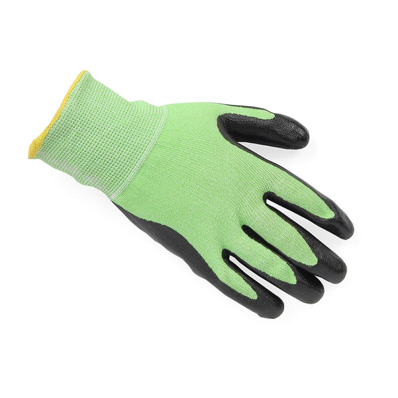 霍尼韦尔 NEO45730GCN NEOCUT5丁腈涂层HPPE5级防割手套 7号