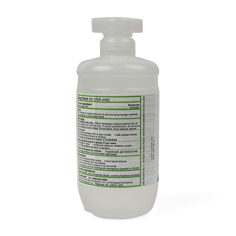 霍尼韦尔32-000454-0000 Eyesaline瓶装洗眼液