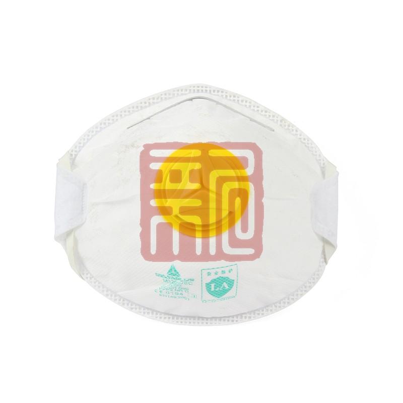 代尔塔 104016 M1200VSC P2免保养带呼吸阀防尘口罩封面