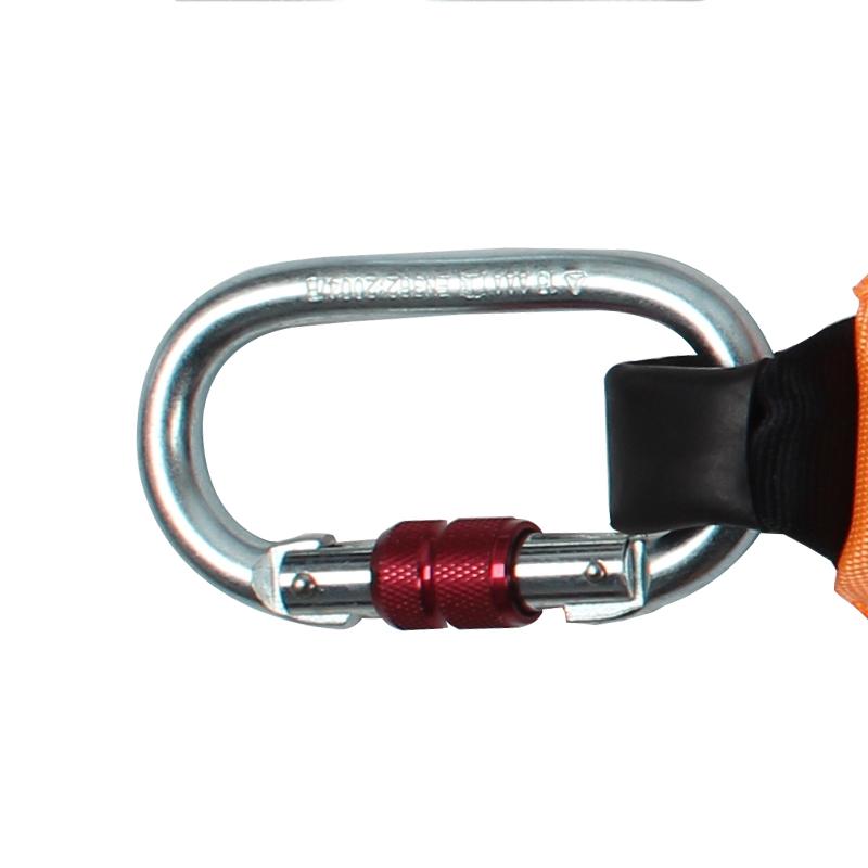 代尔塔504210 AN219CDD双大钩Y型减震带/减震绳/1.2米