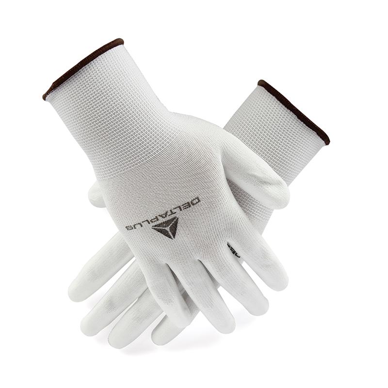 代尔塔 201704 PU涂层精细操作手套 VE702P