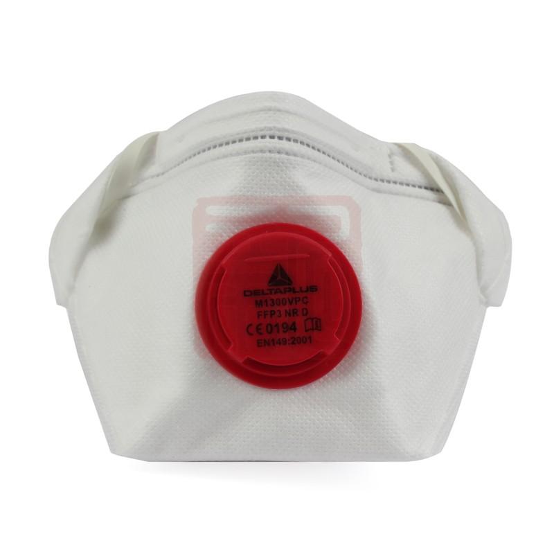 代尔塔 104106 M1300VP P3免保养鸭嘴带呼吸阀防尘口罩封面